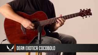 Dean Guitars Exotica Cocobolo Acoustic/Electric
