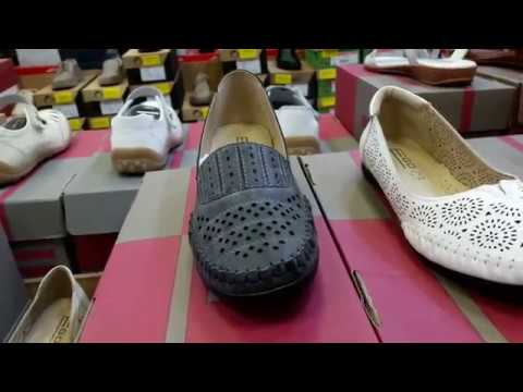 Магазин-склад дешевой обуви из натуральной кожи