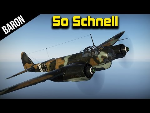 War Thunder I Am So Schnell Right Now, Ju 88 German Bomber Fun