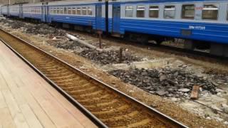 Ремонт платформы на ж/д станции ''Фрязино пассажирская''