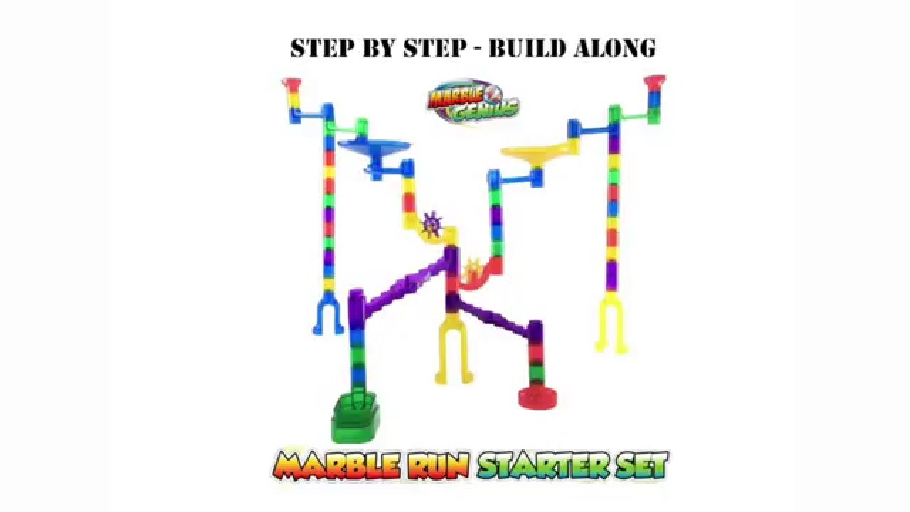 Instructions Step By Step Marble Run Starter Set By Marble