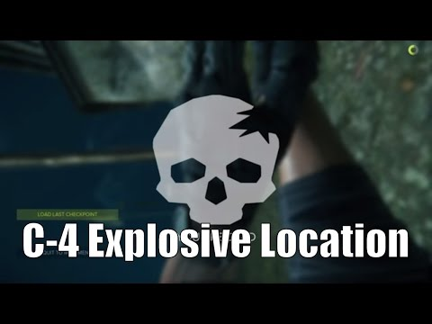 Sniper Ghost Warrior 3 C-4 Explosive Location - How to use C4