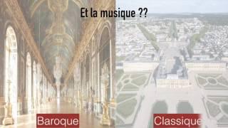 Comment distinguer art baroque et art classique ?