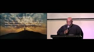 (10-10-21) The Believers Fellowship - Acts 2:14, 17-21, 38 - Guest, Rev. Otis Muldrow via Zoom