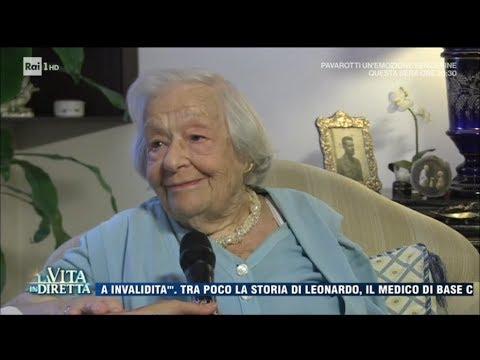 100 anni felici: no a marito e figli, sì al vino - La Vita in Diretta 06/09/2017