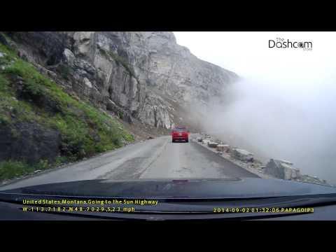 Going To The Sun Highway - Glacier National Park - Montana - Dashcam Tour