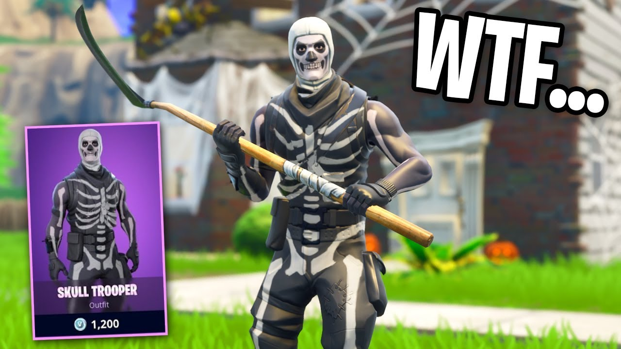 The SKULL TROOPER is BACK In Fortnite    (Asking Players What They Think  About It's Return)
