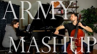 Army / Love Me Like You Do - Ellie Goulding Mashup (Cello + Piano Cover)