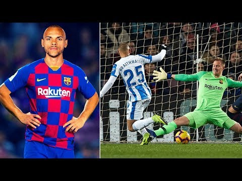 Barcelona Sign Martin Braithwaite From Leganes - What Can He Bring To The Club?