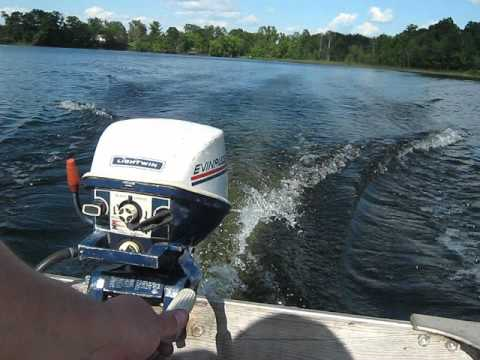 1972 Evinrude Lightwin 4hp Outboard Motor Youtube
