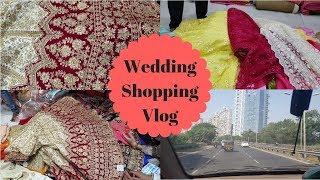 Bridal Wedding Shopping Vlog #1 | Aise Kiya Humne Shaadi Ki Shopping | My Kitchen My Dish
