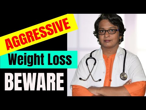 Aggressive Weight Loss May Cause D**** or Critical Illness By Dr. wagh