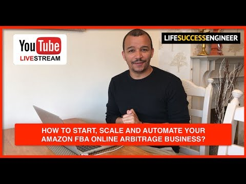 🔴 How To Start, Scale & Automate Your Amazon FBA Online Arbitrage Business? 📦 💷💰💶