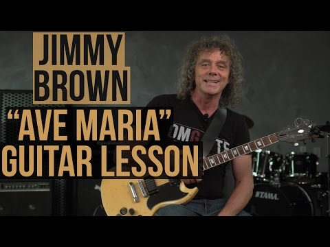 "How to Play ""Ave Maria"" on Guitar - Guitar World's Jimmy Brown"