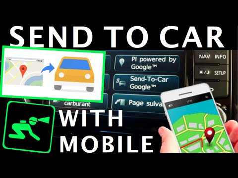 Using Google Send To Car On Mobile