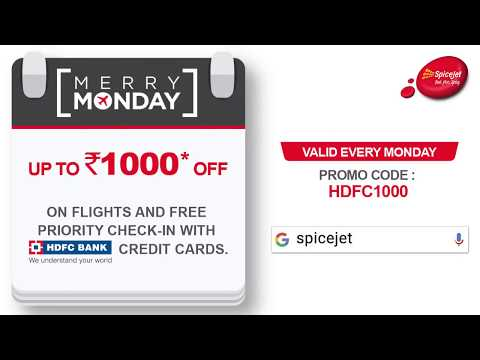 SpiceJet presents 'Merry Mondays' Offer