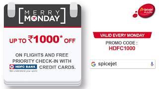 SpiceJet presents 'Merry Mondays' Offer