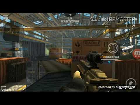 Играю с другом на одном сервере в Modern Strike Online