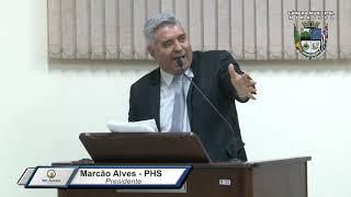 39ª S. Ordinária - Marcão Alves
