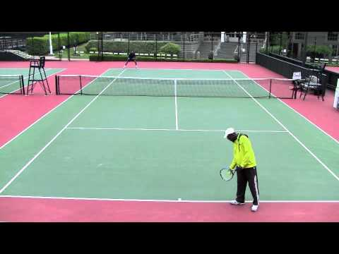2011 Pacific Coast Seniors Tennis Tournament - Martinez vs. Pierce