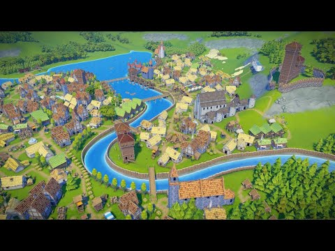 Foundation | Ep. 1 | New City Founded in Kingdom | Foundation City Building Tycoon Update 1.6