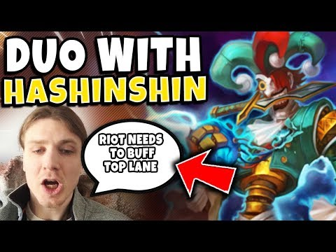 *HILARIOUS DUO* RANK 1 SHACO WORLD + HASHINSHIN (IN VOICE COMMS) - League Of Legends