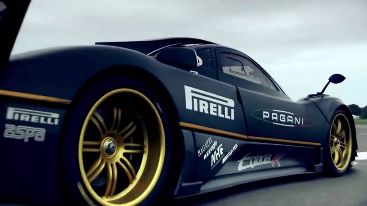 Pagani Zonda R Supercar Youtube