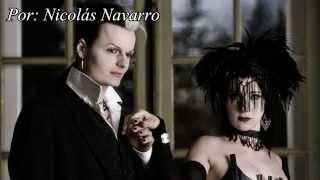 Lacrimosa - Durch Nacht und Flut (Versión Español) (Subtitulado) (HD - HQ)