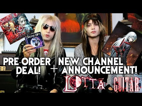 New Channel Announcement & Mask of Morality Pre Order Special! Free Physical Salems Lott EP?!?!