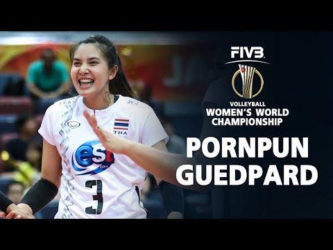 Pornpun Guedpard BEST SETTER ATTACKS (พรพรรณ เกิดปราชญ์) I Women Volleyball World Championship 2018