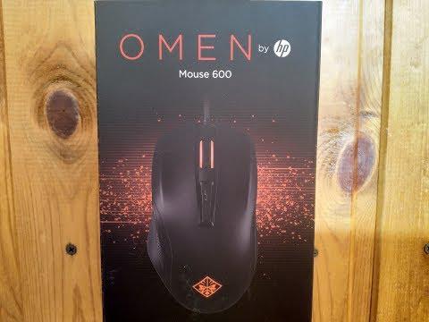 Обзор игровой мыши hp omen 600