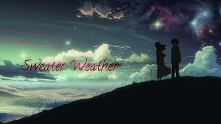 """「AMV」""""Sweater Weather"""" - The Neighborhood (Max & Alyson Stoner Cover)"""