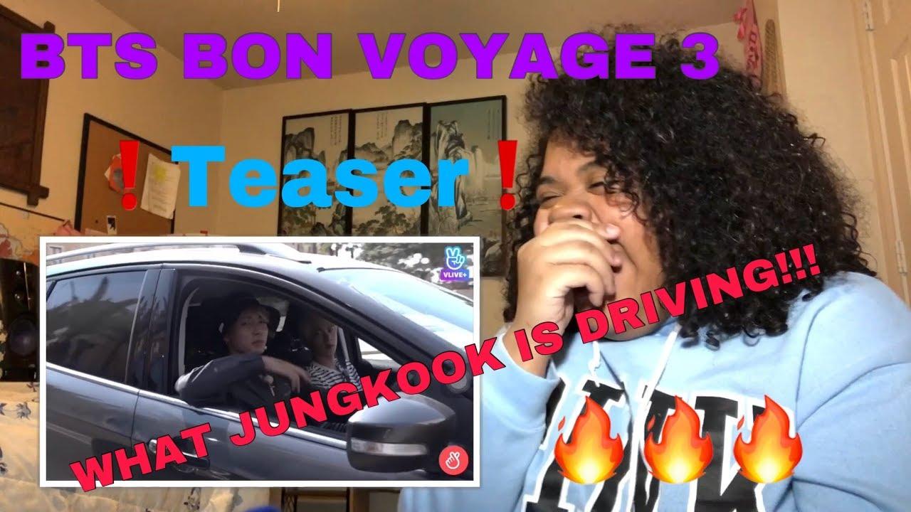 #BonVoyage #BTS #Season3 BTS Bon Voyage Season 3 Teaser Reaction