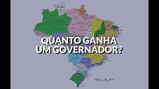 Quanto GANHA um GOVERNADOR? | Pensões vitalícias para ex-governadores