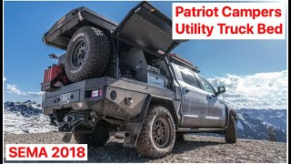Australian utility truck bed by Patriot Campers :SEMA 2018