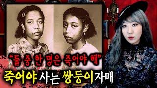 [토미] 사이코패스 판정 받은 쌍둥이 자매, 그 중 한명의 비극적 죽음이후 생긴 일 | 토요미스테리 | 디바제시카