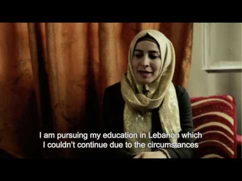 Portrait of Ghazieh - HOPES Student from Syria in Lebanon ©HOPES