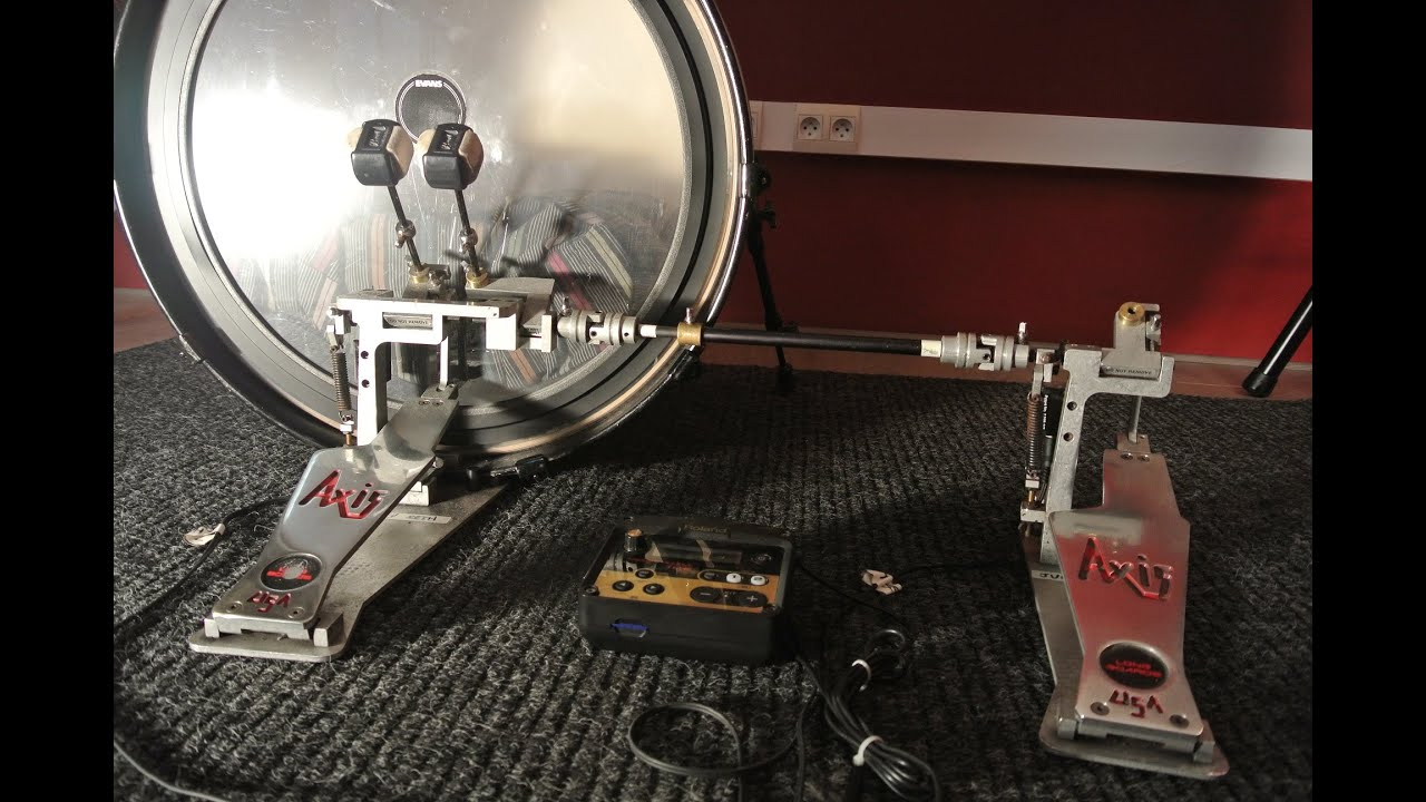 pedals trigger and bass drum setup youtube. Black Bedroom Furniture Sets. Home Design Ideas