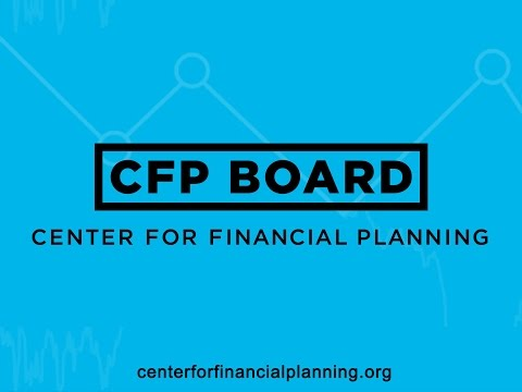 CFP Board Center for Financial Planning Launch Event: Introduction to the Center