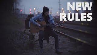 Download Lagu Dua Lipa - New Rules - Fingerstyle Guitar Cover Mp3