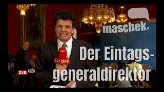 Maschek WÖ_395 - Der Eintagsgeneraldirektor