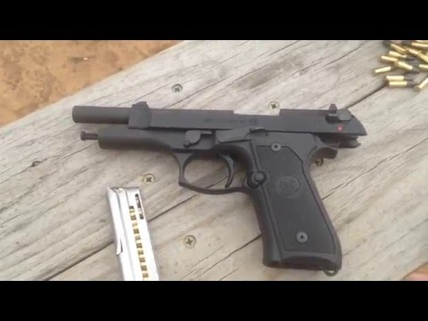 beretta m9 22lr first look and quick review youtube