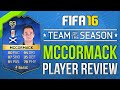 FIFA 16 TOTS MCCORMACK REVIEW (83) FIFA 16 Ultimate Team Player Review
