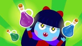 마법의 물약 | 변신 놀이 | 색깔 놀이 | 영어 배우기! | 티디키즈★지니키즈
