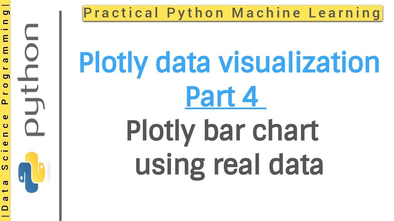 Plotly Python - Plotly bar chart | Plotly Python data visualization