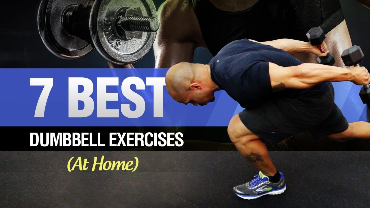 Dumbbell Workout At Home (Quick Dumbbell Exercises To Lose