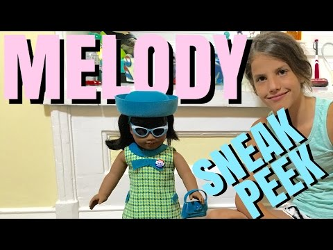 Introducing American Girl Melody - First Look - Sneak Peek