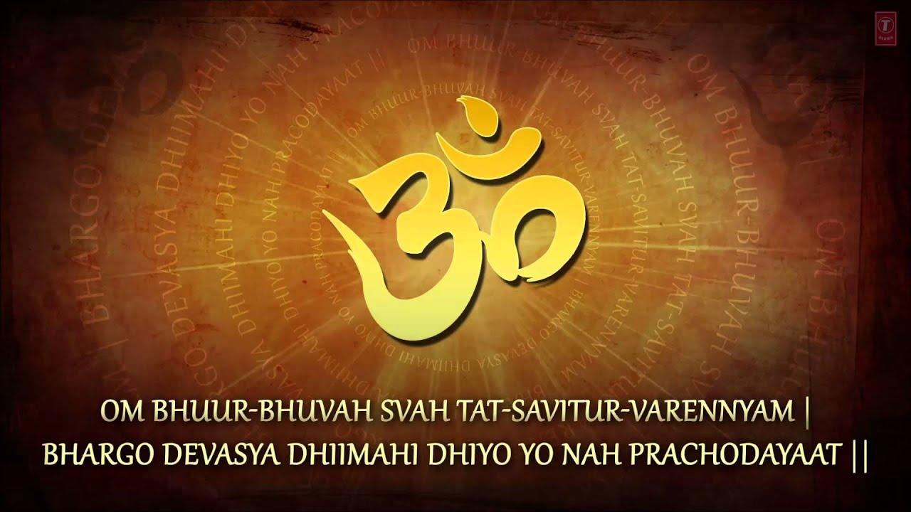 Jagjit Singh Hd Wallpapers Gayatri Mantra 108 Times By Jagjit Singh Full Song I