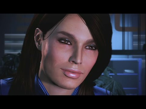 Mass Effect Trilogy: Ashley Romance Complete All Scenes(ME1,