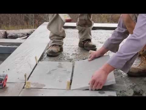 Banas Stones®: Wet Lay Application of Natural Banas Stone Pavers